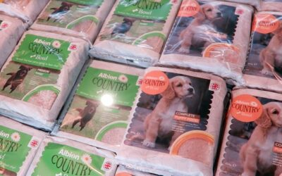 New Wylie Wellness Centre Stocks Raw Dog Food Products By Albion Meat Products